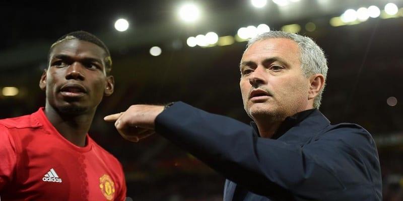 Photo de Manchester United: Mourinho tacle une nouvelle fois Paul Pogba