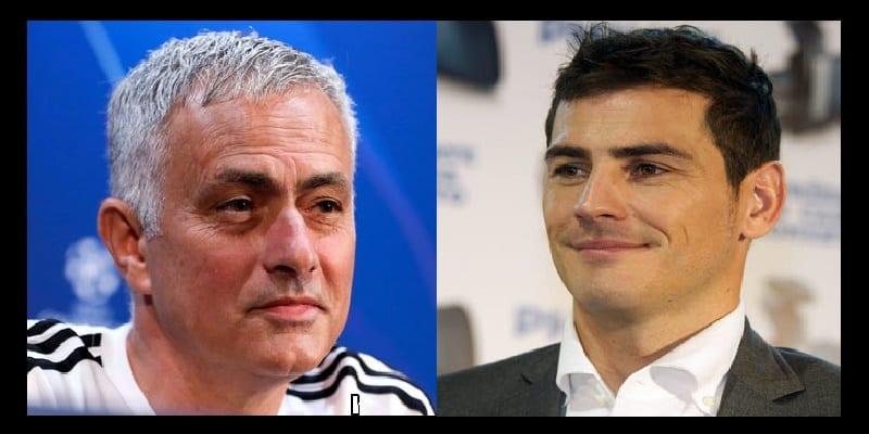 Photo de Football: Casillas répond avec ironie à la provocation de José Mourinho