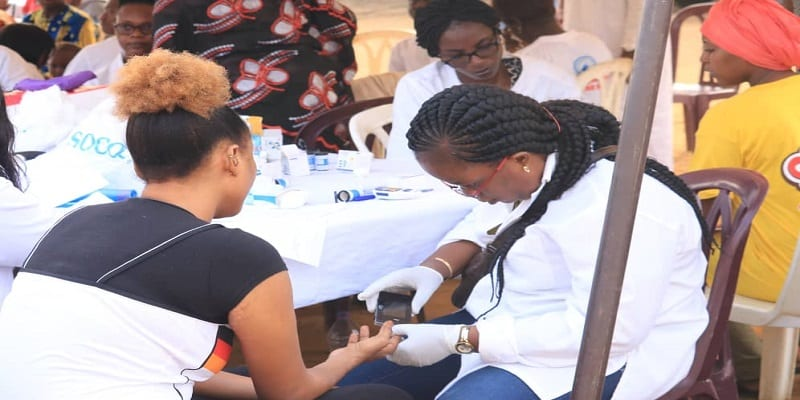 Photo de Santé: La JCI Abidjan-Elite fait dépister 400 personnes du diabète