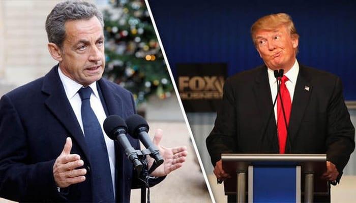 Photo de USA-France: Nicolas Sarkozy tacle sévèrement Donald Trump