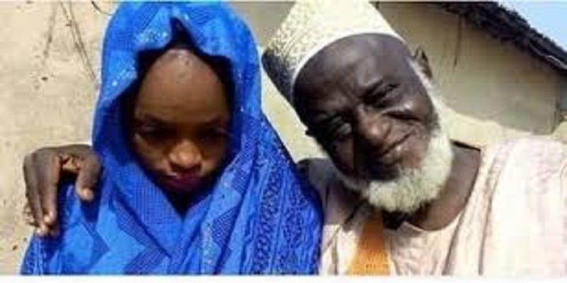 Photo de Nigeria: Le mariage d'un homme de 70 ans avec une fille de 15 ans remue la toile