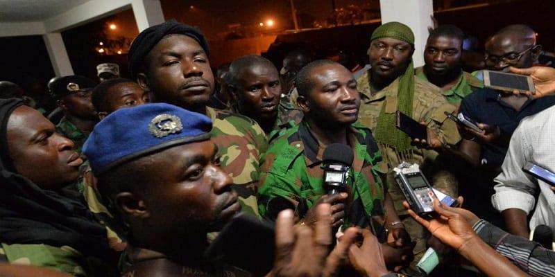Photo de Côte d'Ivoire: Des militaires envahissent le ministère de la Défense