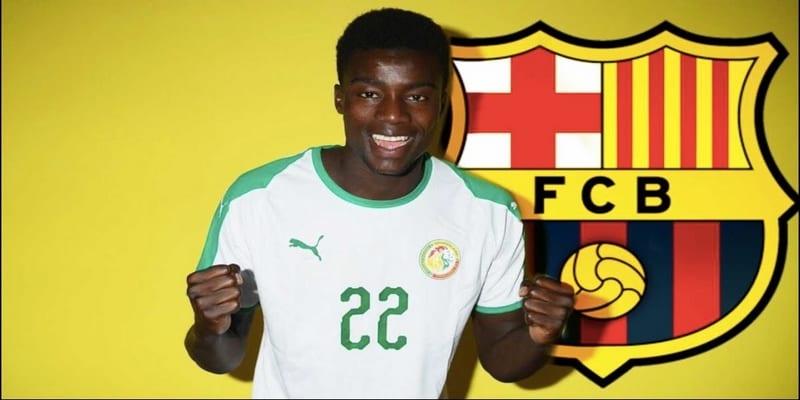 Photo de Moussa WAGUÉ : « Je veux apporter à l'équipe nationale ce que j'ai appris au Barça »