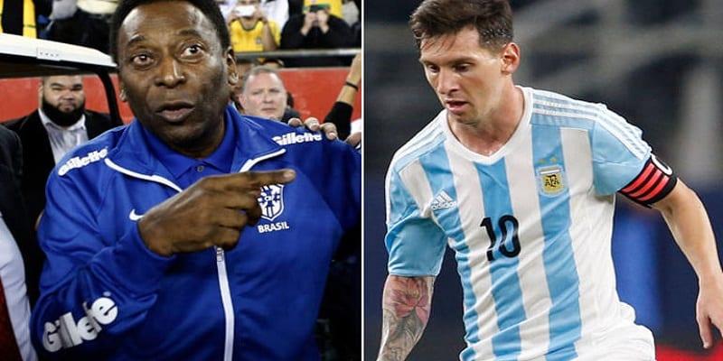 Photo de Football: Pélé tacle sévèrement Lionel Messi