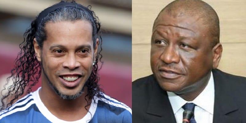 Photo de Côte d'Ivoire: Ronaldinho visite Hamed Bakayoko et d'autres autorités