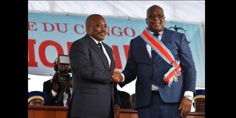 Photo de RDC: Le président Félix Tshisekedi fait un malaise pendant son discours d'investiture-VIDEO