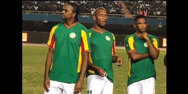 Photo de CAF Awards : Drogba offre la victoire au match de gala des légendes africaines