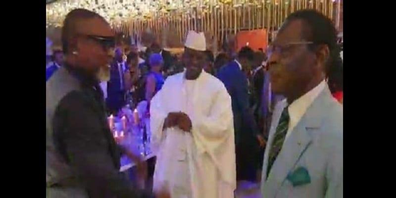 Photo de Concert de Koffi Olomidé: Yahya Jammeh et Obiang Nguema font le show (vidéo)