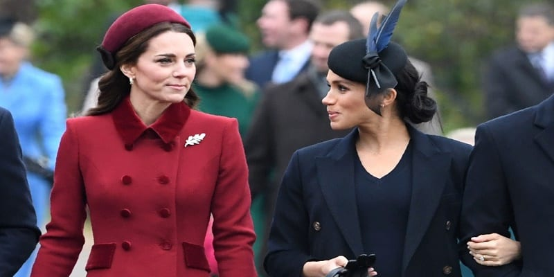 Photo de Relation tendue entre Kate et Meghan : un journaliste fait des confidences