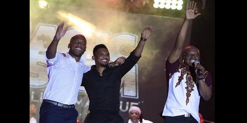 Drogba et Eto'o les legendes
