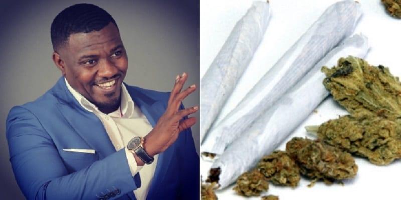 """Photo de «La marijuana devrait être légalisée"""", dixit John Dumelo"""