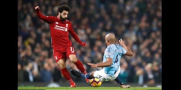 Photo de Football: Voici ce qu'a dit Kompany après avoir taclé Mohammed Salah-VIDEO