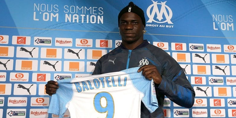 Photo de Football: Mario Balotelli rejoint l'Olympique de Marseille