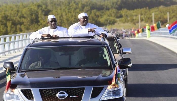Photo de Inauguration historique d'un pont reliant la Gambie et le Sénégal