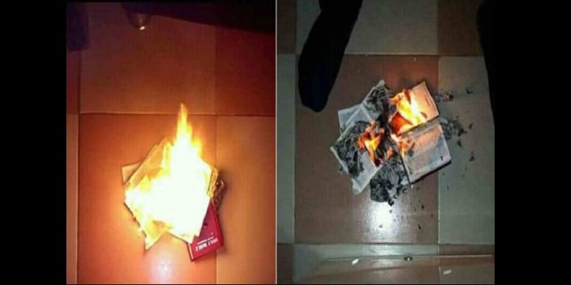 The-Bible-is-powerless-man-claims-as-he-burns-it-lailasnews-4-600×300