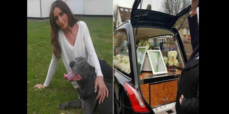 Photo de Elle dépense plus de 4000 £ pour les funérailles de son chien (photos)