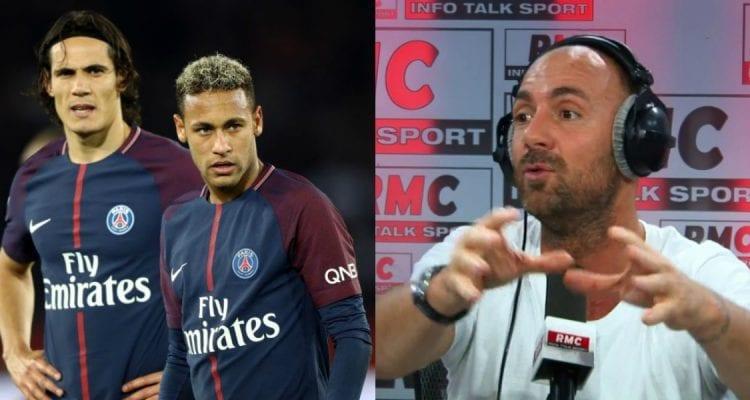 Photo de PSG: Christophe Dugarry lance des piques à Neymar après sa blessure