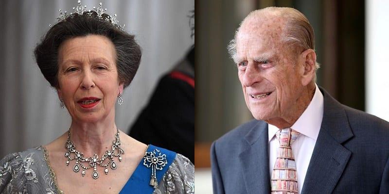 """Photo de Angleterre: La réaction """"choquante"""" de la princesse Anne à l'accident du prince Philip-VIDEO"""
