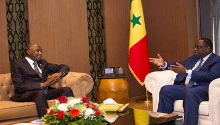 Photo de Côte d'Ivoire: Amadou Gon reçu par les présidents Macky sall et Boubakar Kéita