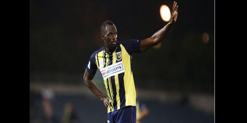 Photo de Usain Bolt annonce une nouvelle concernant sa carrière de footballeur