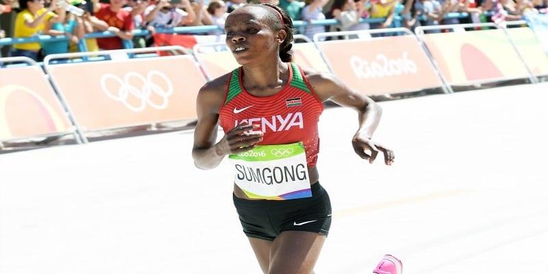 Photo de La championne Kényane Jemima Sumgong suspendue 8 ans