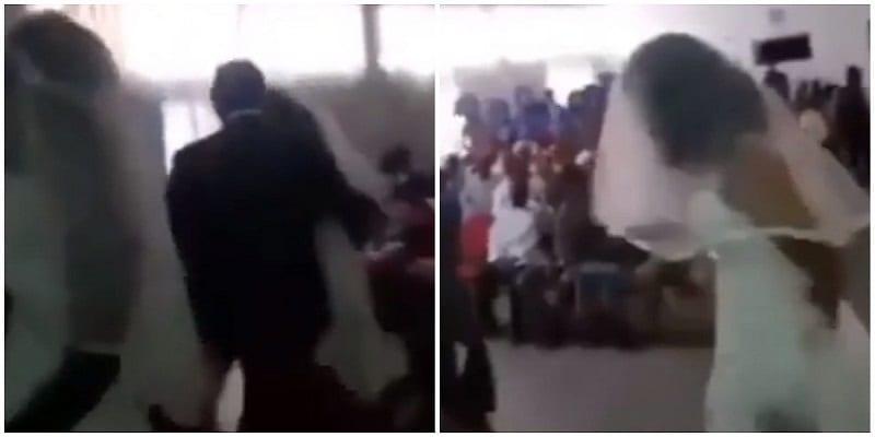 Photo de Vidéo: une maîtresse se rend au mariage de son amant dans sa propre robe de mariée