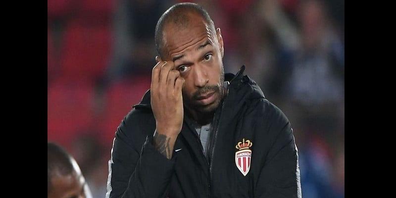 Photo de Monaco: Thierry Henry suspendu après seulement trois mois