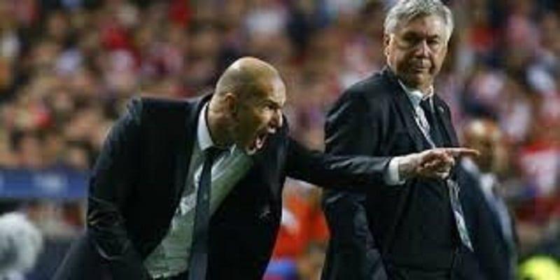 "Photo de Ancelotti encense Zinedine Zidane: ""Zidane a changé mon idée du football"""
