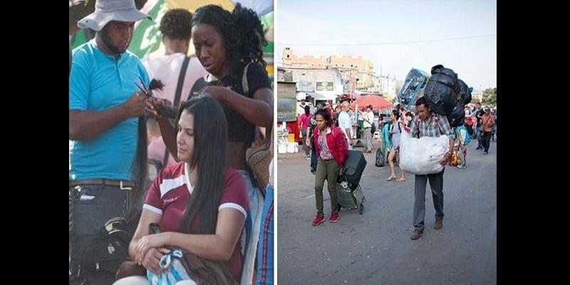 Photo de Crise au Venezuela: Des citoyennes désespérées «vendent leurs cheveux»