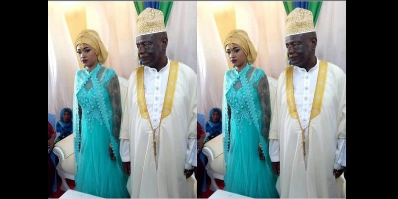 73-Year-Old-Politician-Marries-25-year-old-Pretty-Lady-PhotoVideo-1