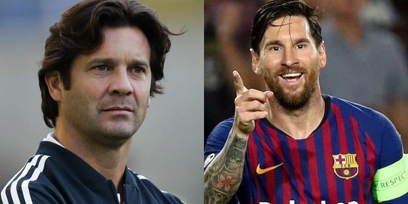 Photo de Clasico Barça-Real : Le message de Solari à Lionel Messi