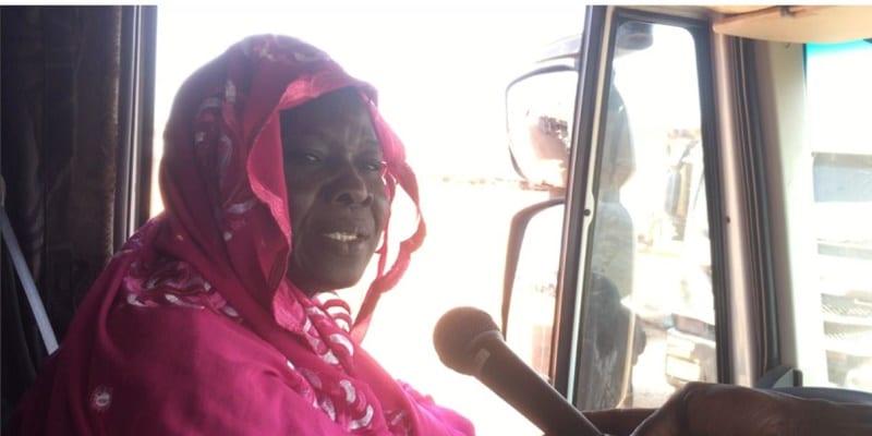 Photo de Afrique de l'Ouest: Découvrez Massata Cissé, seule femme Conductrice de poids lourds depuis 28 ans