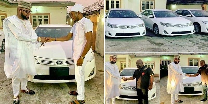 Photo de Nigeria: 'E-Money', le millionnaire qui offre des voitures à ses travailleurs lors de son anniversaire