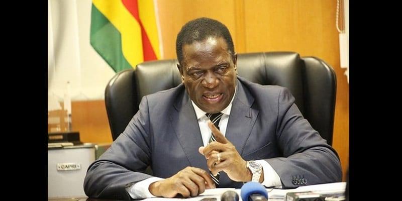 Photo de Violence au Zimbabwe: Le président Emmerson Mnangagwa s'en prend aux pays occidentaux