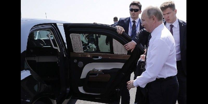 Photo de Russie: A la découverte de la limousine Aurus Senat de Vladimir Poutine-Vidéo