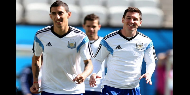 Photo de Football: Quand Di Maria encense son compatriote Lionel Messi