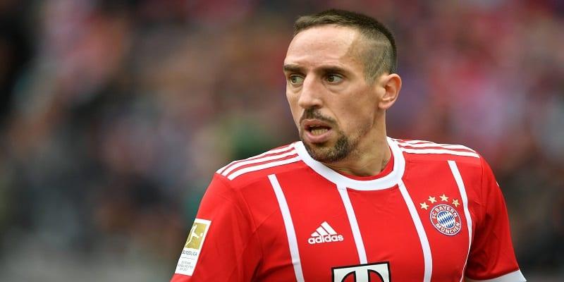 Photo de Bayern Munich: Franck Ribéry reçoit une excellente nouvelle.