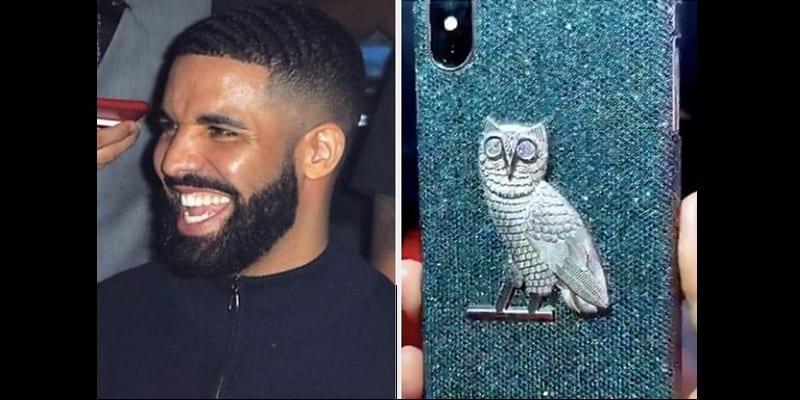 Photo de Drake s'offre une coque d'iPhone à 400 000 dollars, la toile s'indigne(vidéo)