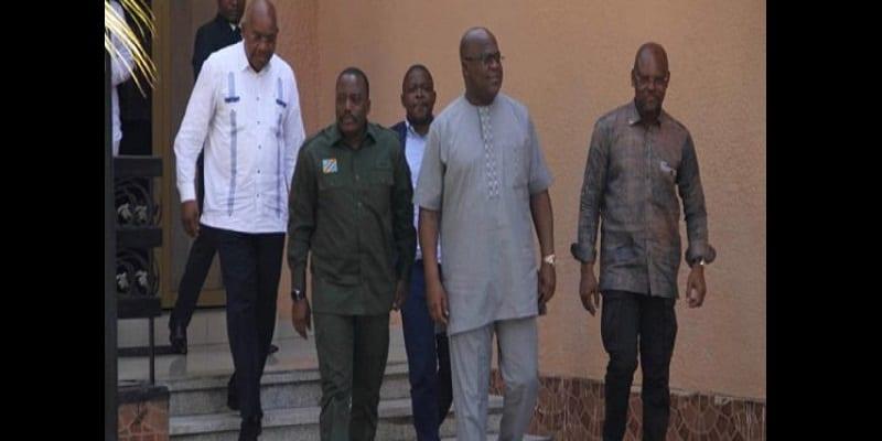 Photo de RDC : Le président Felix Tshisekedi pourrait faire une coalition avec Joseph Kabila