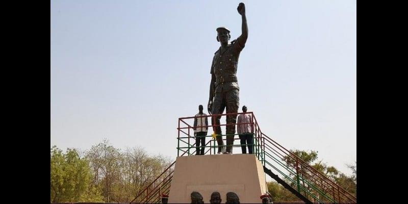Photo de Burkina Faso : Polémique autour d'une statue géante de Thomas Sankara inaugurée