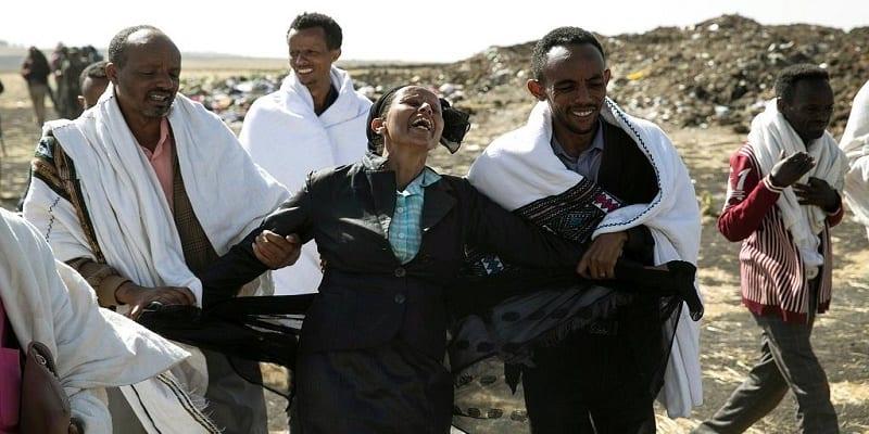 Photo de Ethiopian Airlines: Une mère inconsolable suite au décès de sa fille hôtesse