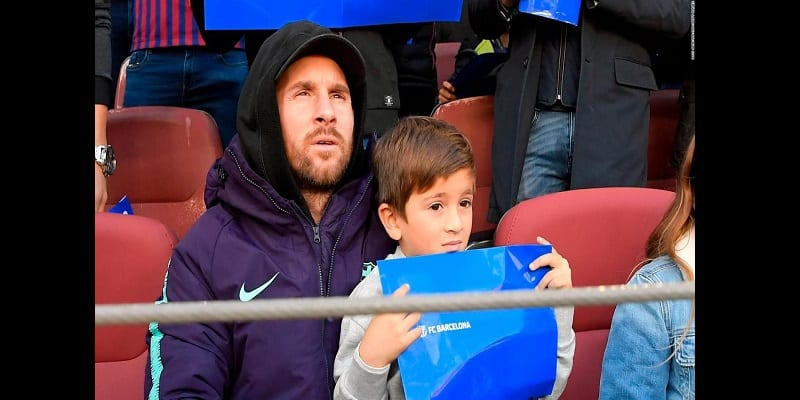 Photo de Lionel Messi : « Mon fils m'a demandé pourquoi ils te tuent en Argentine, papa ? »