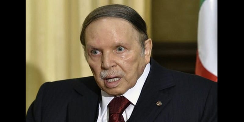 Photo de Algérie: Mise en garde du président Abdelaziz Bouteflika au peuple