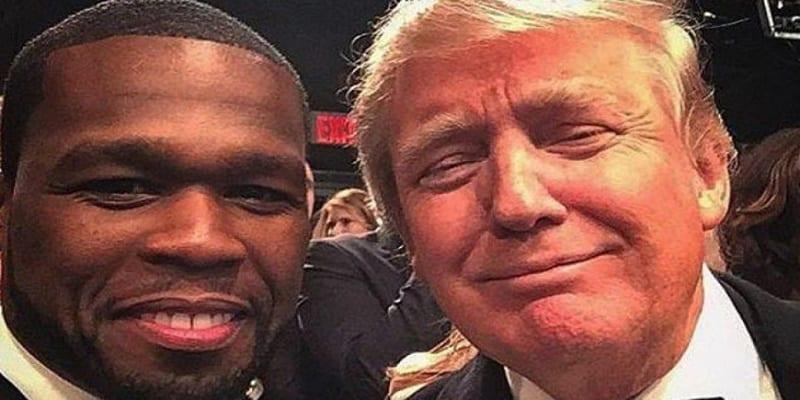 Photo de Trump aurait proposé 500 000 dollars à 50 Cent, le rappeur réagit! VIDEO