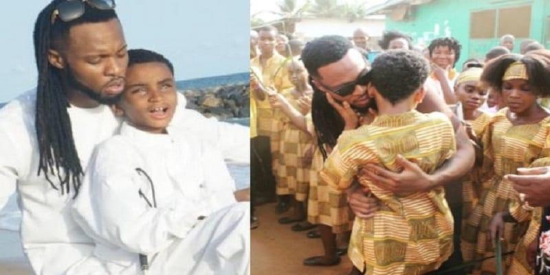Photo de Flavour ouvre une école pour aveugles au Liberia: Photos
