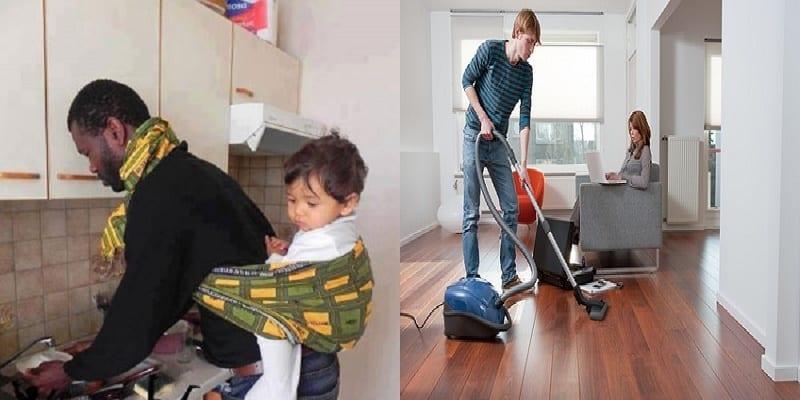Photo de Messieurs, faire les tâches ménagères avec madame aide à une vie sexuelle épanouie