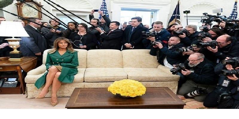 Photo de États-Unis : Cette tenue de Mélanie Trump qui crée la polémique