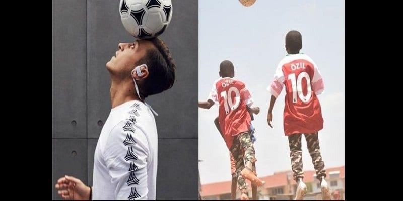 Photo de Arsenal: Le geste très émouvant de Mesut Özil envers des enfants Kényans