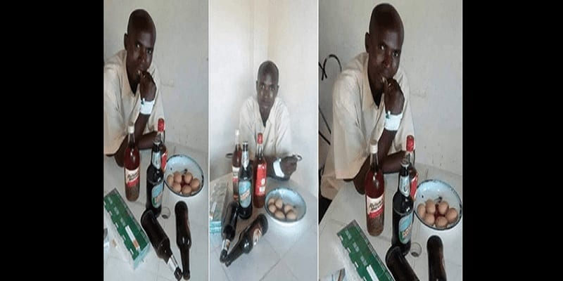Photo de Zambie: atteint d'un cancer, il s'évade de l'hôpital pour aller boire de la bière et fumer