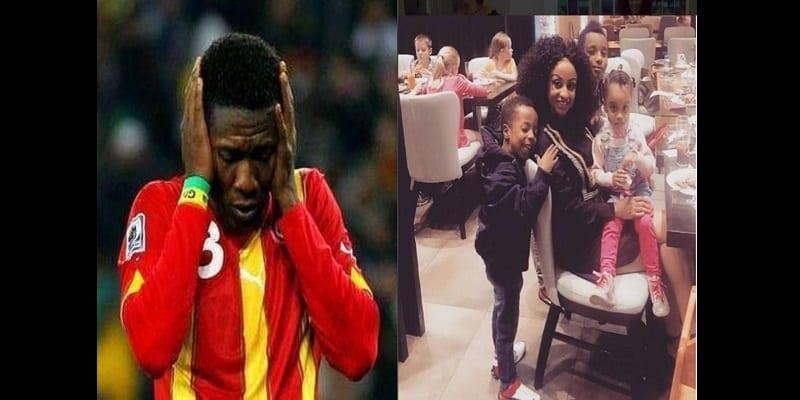 Photo de Affaire de test de paternité : Asamoah Gyan n'aurait pas encore pris contact avec sa famille